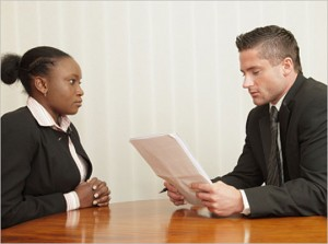 Disclosure of information – Job Interview