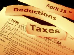 Deductions from an employees salary