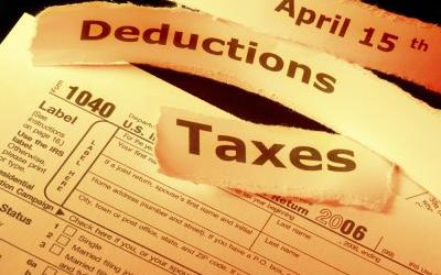 Deductions from an employee's salary