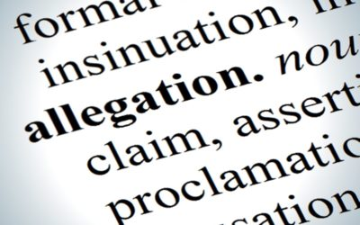 Proper classification of misconduct