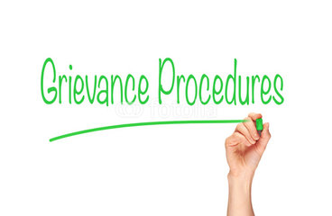 managing the grievance process A conflict resolution is an informal process whereby full-time employees resolve workplace disputes b a grievance is a formal process whereby a full-time employee alleges a violation, inequitable application, or misinterpretation of a specific college rule, regulation, policy, or procedure.