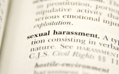 Myths around sexual harassment in the workplace