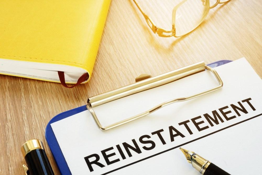 unfair dismissal reinstatement