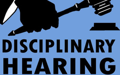 Facts and Evidence count in Disciplinary Hearings