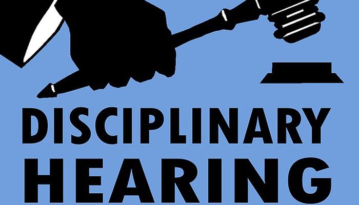 Disciplinary Hearings
