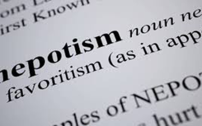 Nepotism and its dangers in the workplace