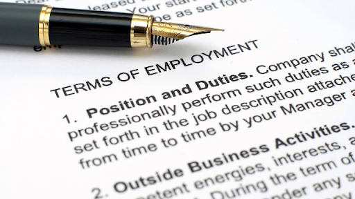 Employment Terms & Conditions