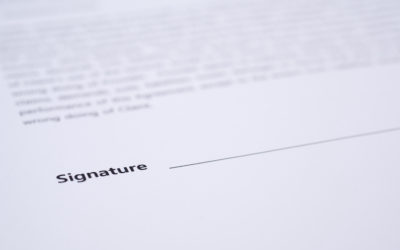 Unsigned Employment Contracts – Part 1